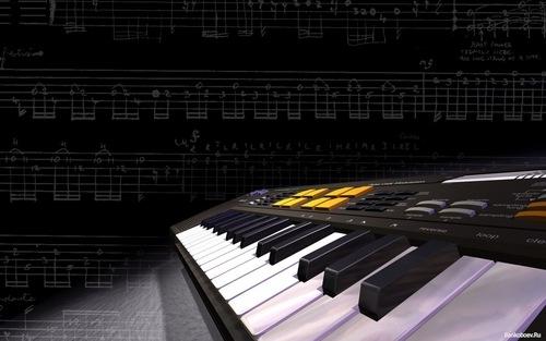 музыкальные картинки на рабочий стол № 399806  скачать