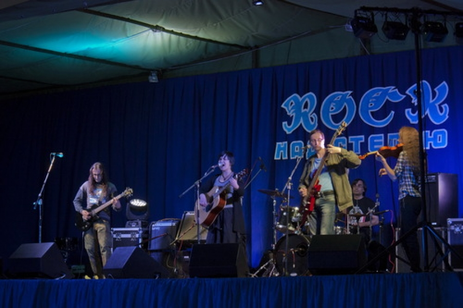 Рок группа фестиваль