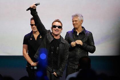 Новый альбом U2 провалился в мировом чарте